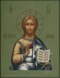 Господь Вседержитель, 10х13, 2017 г.