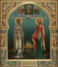 Киприан священномученики Иустина мученица, 27х31, 2019 г.
