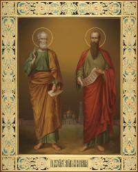 Петр и Павел (апостолы), 40х50, 2019 г.