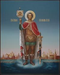 Александр Невский, 40х50, 2021 г.