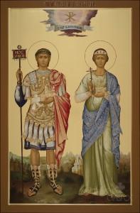 Константин и Елена, 67х102, 2018 г.