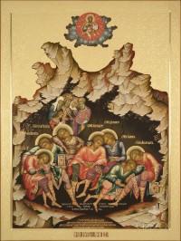 Семь отроков эфесских, 75х100, 2018 г.