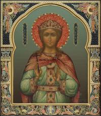 Ирина мученица, 27х31, 2021 г.