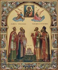 Избранные святые(семейная), 30х36, 2021 г.