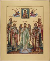 Избранные святые(семейная), 40х48, 2021 г.