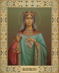Варвара великомученица, 40х50, 2019 г.
