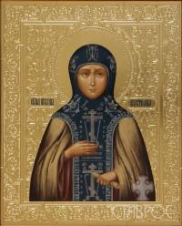 Евстолия Константинопольская, 22х27, 2015 г.