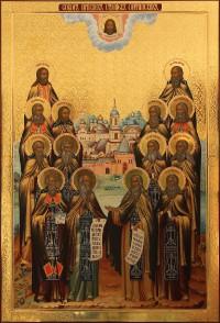 Собор Оптинских Старцев, 80x110, 2014 г.