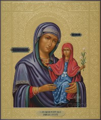 Анна, мать Пресвятой Богородицы, 38x45, 2016 г.