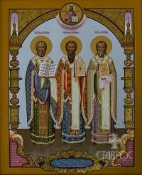 Пермские  Святители, 70х90, 2013 г.