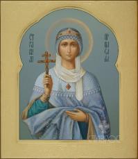 Елена святая равноапостольная царица, 27x31, 2016 г.