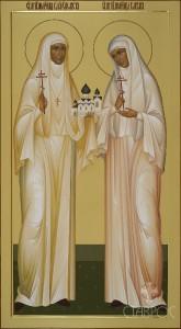 Елизавета и Варвара, 55x100, 2016 г.
