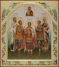 Избранные святые (семейная), 27x31, 2016 г.