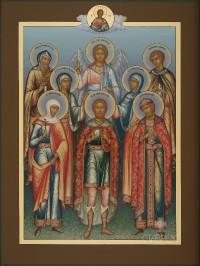 Избранные святые (семейная), 23х30, 2017 г.
