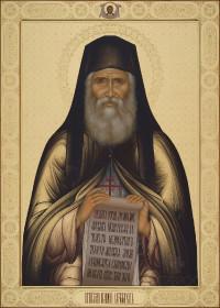 Паисий Святогорец, 50х70, 2020 г.