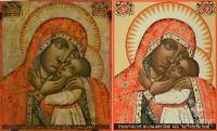 Дегтяревская (список с иконы из музея древнерусского искуства), 24х31, 2015 г.