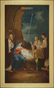 Рождество Христово, 56х91, 2018 г.