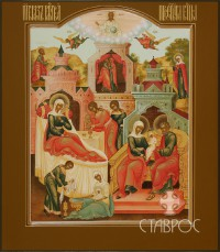 Рождество Богородицы, 27х31, 2015 г.