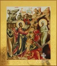 Воскрешение Лазаря, 27х31, 2014 г.