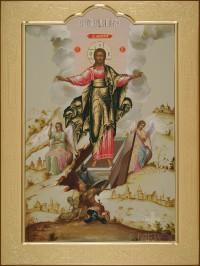 Воскресение Христово, 45х60, 2016 г.