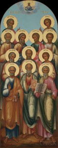 Местный ряд, Собор двенадцати апостолов, 62х156-2016 г.