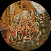Праздничный ряд Рождество Христов, r195, 2016 г.