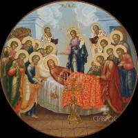 Праздничный ряд Успение Богородицы, r195, 2016 г.
