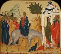 Праздничный ряд, Вход Господень в Иерусалим, 70х62, 2016 г.