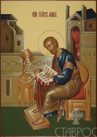 Царские врата, Евангелист Марк, 32x45, 2015 г.
