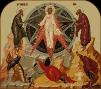 Праздничный ряд, Преображение Господне, 70x62, 2016 г.