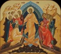 Праздничный ряд, Воскресение Христово, 70x62, 2016 г.