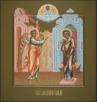 Праздничный ряд, Благовещение, 32х34, 2017 г.