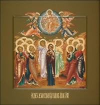 Праздничный ряд, Вознесение, 32х34, 2017 г.