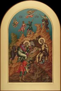 Праздничный ряд, Рождество Христово, 29х43, 2019 г.