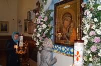 Ярополец, прибытие на приход храмового образа - иконы Божией Матери